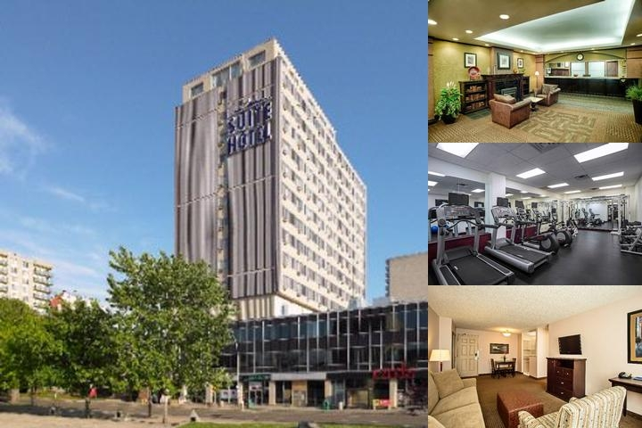 Campus Tower Suite Hotel photo collage