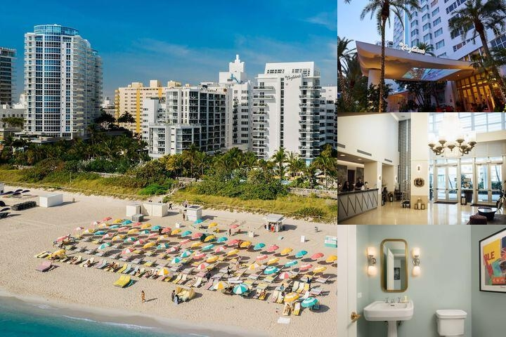 Thompson Miami Beach photo collage