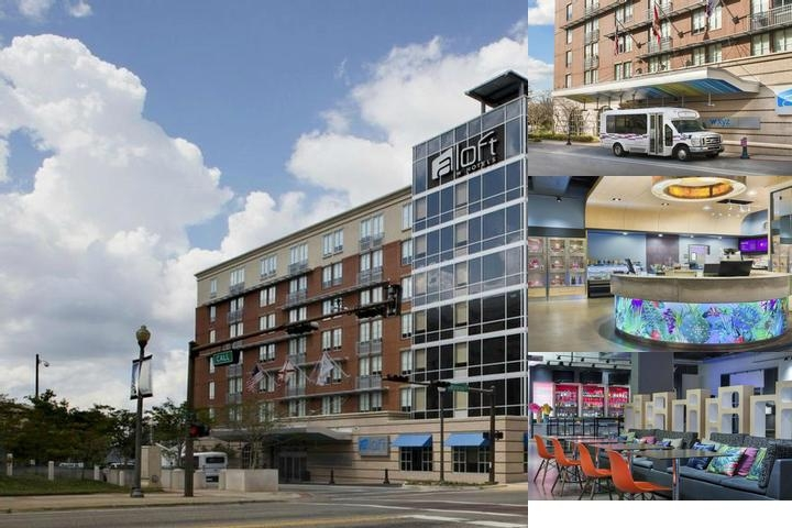 Aloft Tallahassee Downtown photo collage