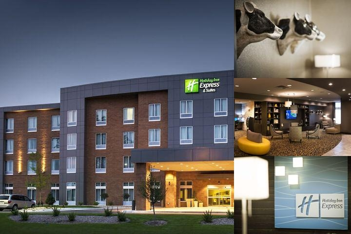 Holiday Inn Express & Suites Madison Central photo collage