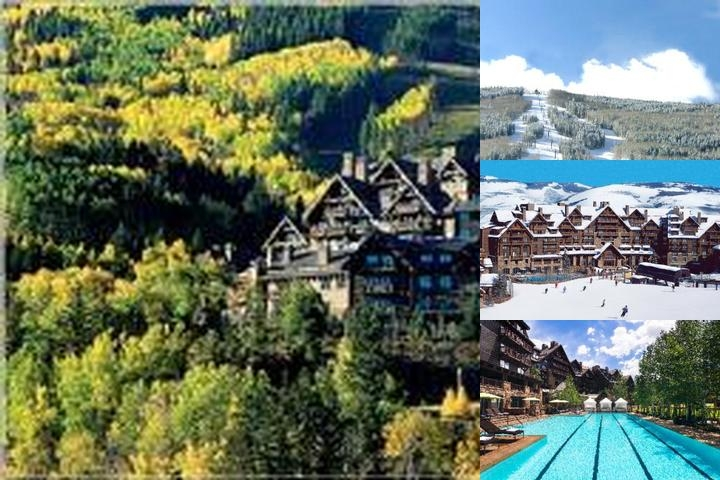 The Ritz Carlton Bachelor Gulch photo collage