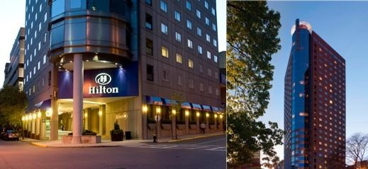 Hilton Boston Back Bay photo collage