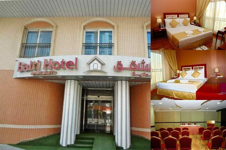 Baiti Hotel Apartments photo collage