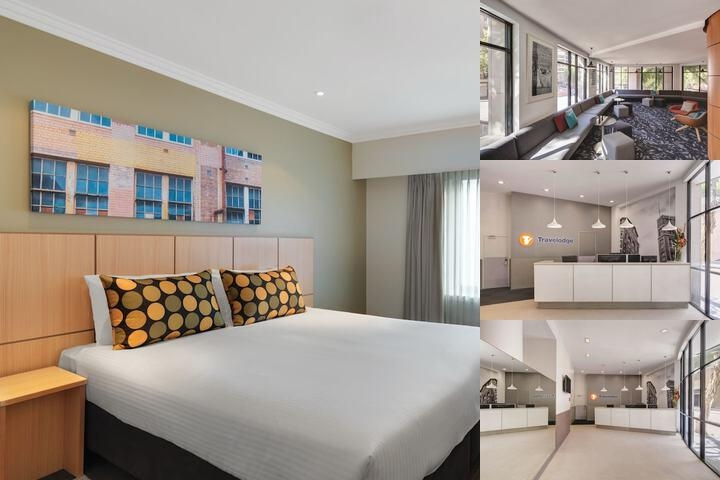 Travelodge Hotel Sydney photo collage