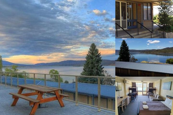 Lake Jindabyne Hotel photo collage