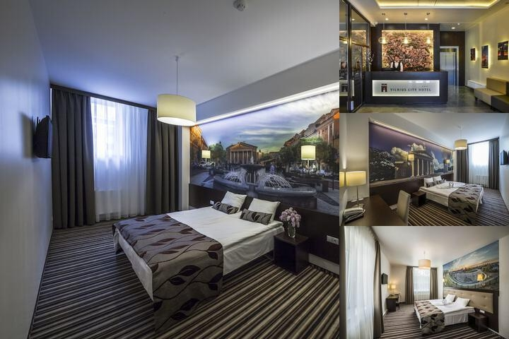 Vilnius City Hotel photo collage
