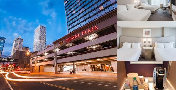 Crowne Plaza Denver photo collage