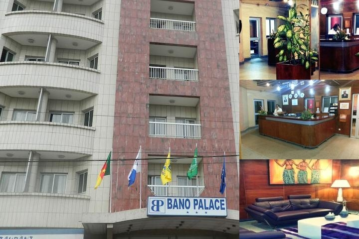 Hôtel Bano Palace photo collage