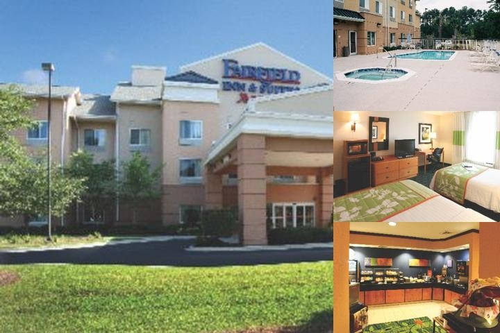 Fairfield Inn & Suites Charleston North / Universi photo collage