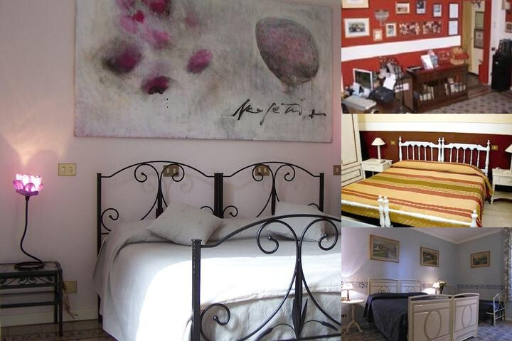 Abatjour B & B Firenze photo collage