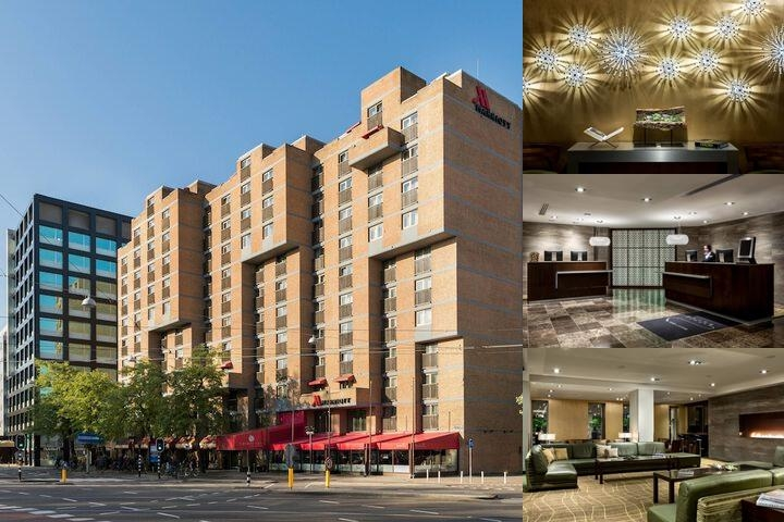 Amsterdam Marriott Hotel photo collage
