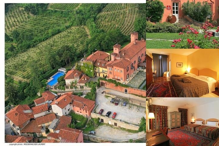 Castello Rosso photo collage