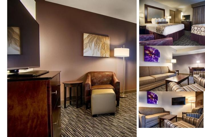 Best Western Plus Landmark Hotel Metairie photo collage