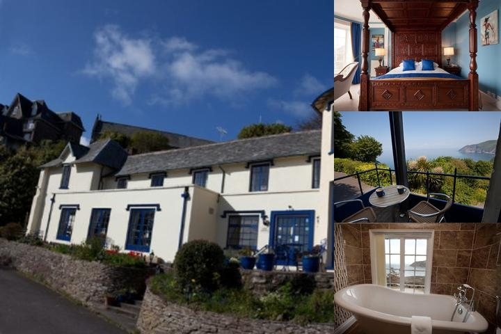 Lynton Cottage Hotel photo collage