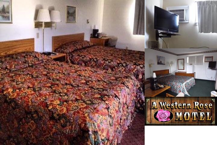 A Western Rose Motel photo collage