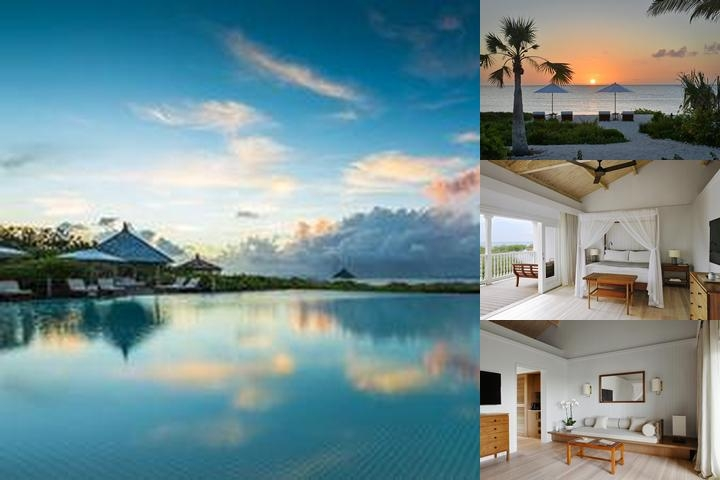 Como Parrot Cay photo collage