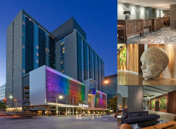 The Westin Cleveland Downtown photo collage