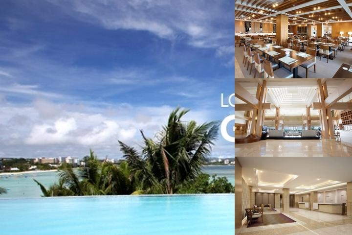 Lotte Hotel Guam photo collage