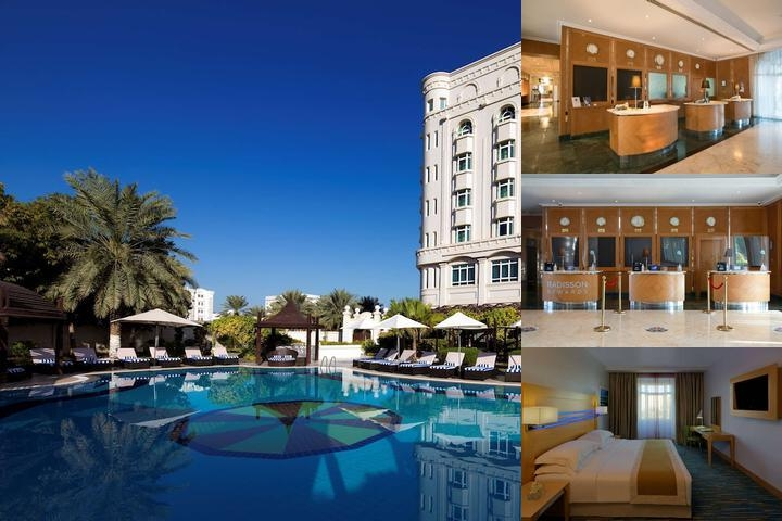 Radisson Blu Hotel Muscat photo collage