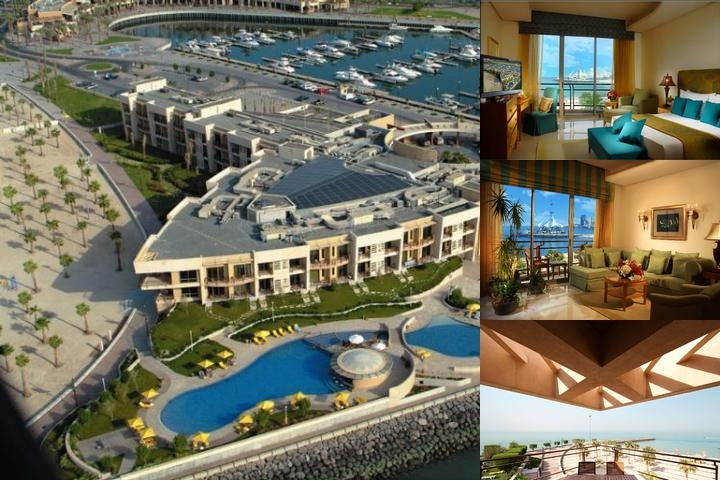 Marina Hotel Kuwait photo collage