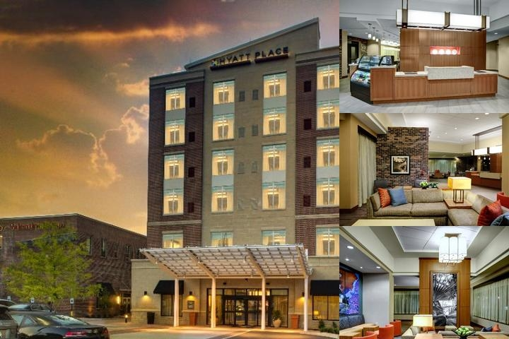 Hyatt Place Columbia Downtown Historic District photo collage