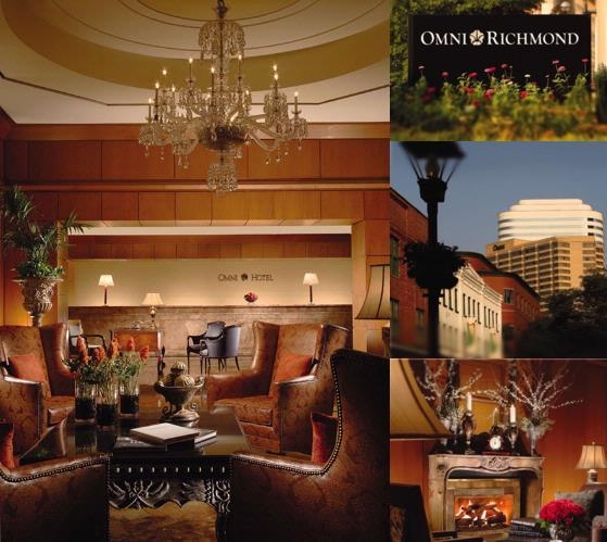 Omni Richmond Hotel photo collage