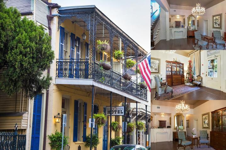 Andrew Jackson Hotel photo collage