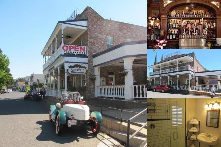 Jamestown Hotel photo collage