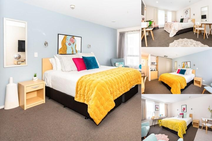 Quest Christchurch Serviced Apartments photo collage