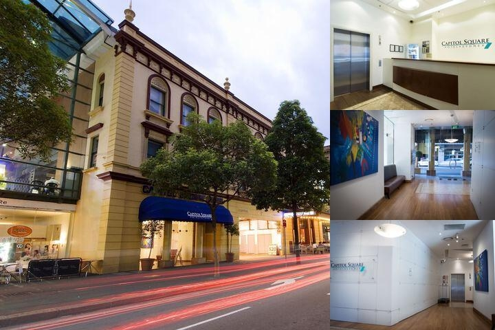 Capitol Square Hotel Sydney photo collage