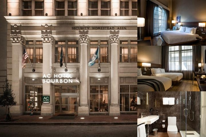 Ac Hotel Bourbon by Marriott photo collage