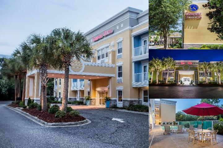 Comfort Suites Mount Pleasant photo collage