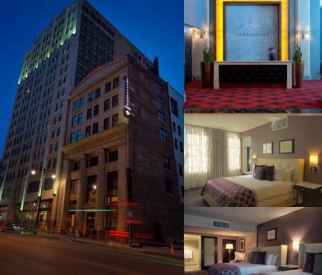 Ambassador Hotel Downtown Power & Light photo collage