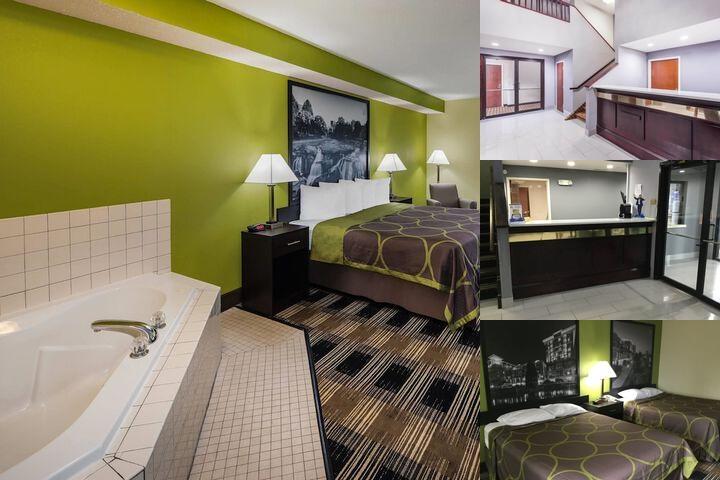 Super 8 Motel Photo Collage