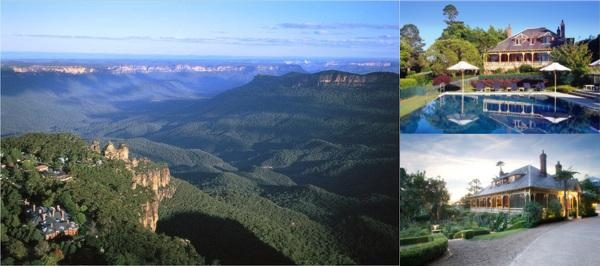 Lilianfels Resort & Spa Katoomba photo collage