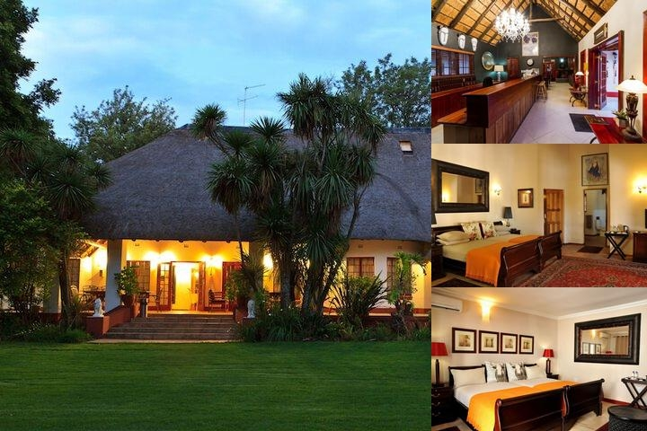 Zulu Nyala Country Manor photo collage
