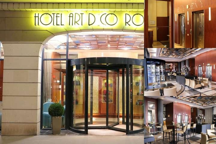 Hotel Art Deco Euralille photo collage