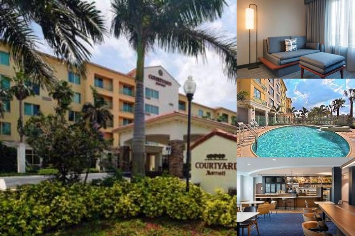 Courtyard by Marriott in Miramar photo collage
