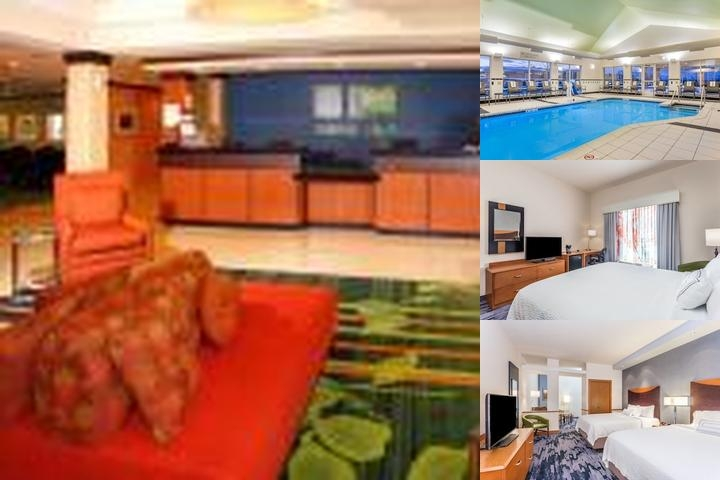 Fairfield Inn & Suites Madison East photo collage