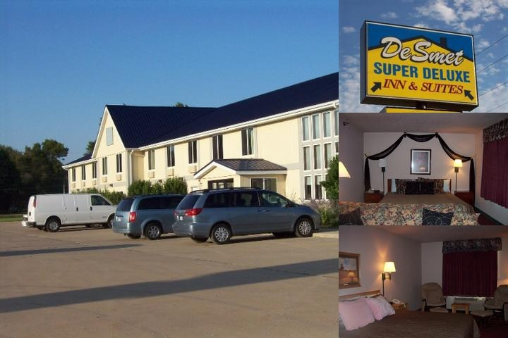 De Smet Super Deluxe Inn & Suites photo collage