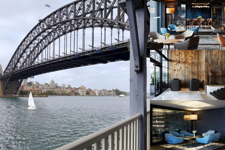 Pier One Sydney Harbour photo collage