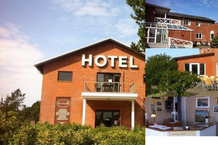 Hotel Strandlyst photo collage