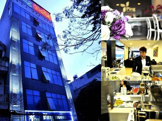 Ping Hanoi Hotel photo collage