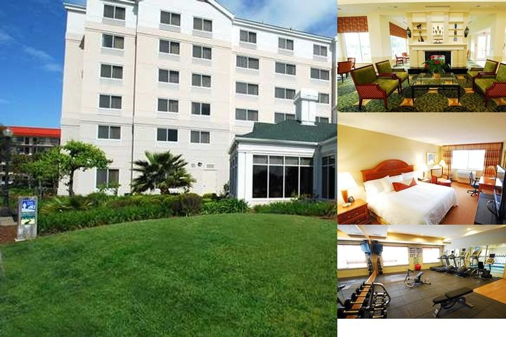 Hilton Garden Inn San Francisco Airport / Burlinga photo collage