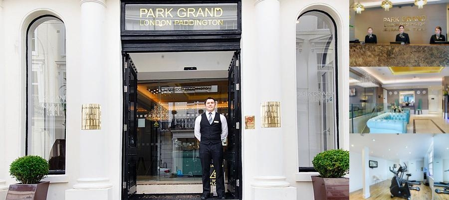 The Park Grand London Paddington photo collage