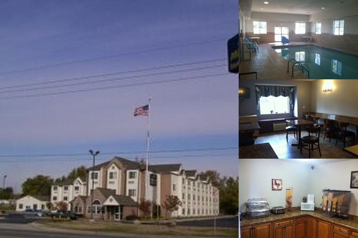 Microtel Inn & Suites by Wyndham Roseville / Detroit Area photo collage