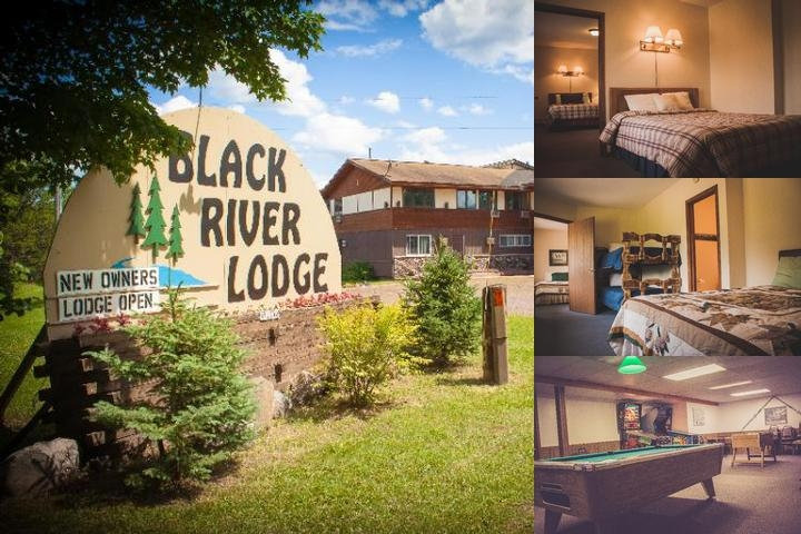 Black River Lodge photo collage