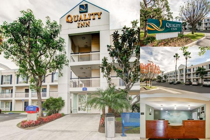 Quality Inn Placentia Anaheim Fullerton photo collage