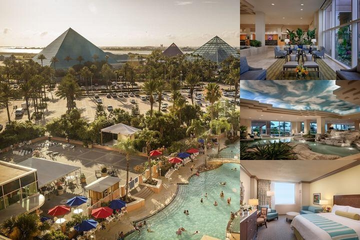 Moody Gardens Hotel Spa & Convention Center photo collage