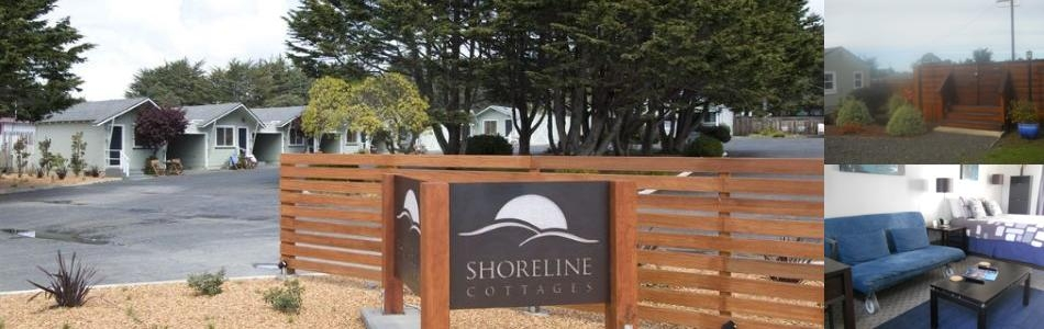 Shoreline Cottages photo collage